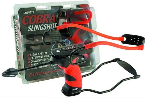 Genuine Barnett Cobra Professional Catapult Slingshot with removable Stabaliser