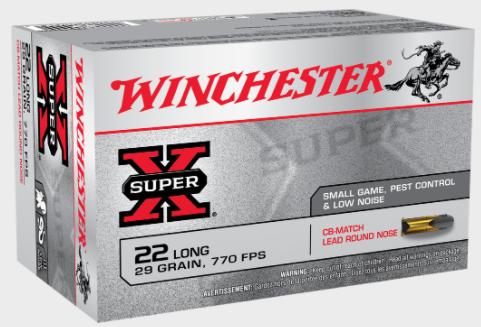 WINCHESTER SUPER X 40 GR 22LR AMMO