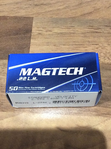 Magtech .22 LR ammo. Standard Velocity