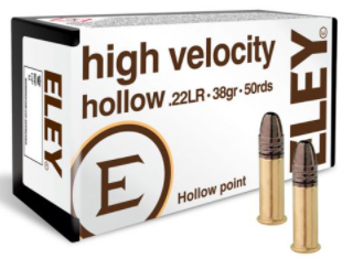 ELEY high velocity hollow 22LR