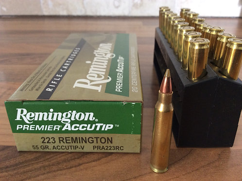 REMINGTON ACCUTIP-V 223. 55 gr