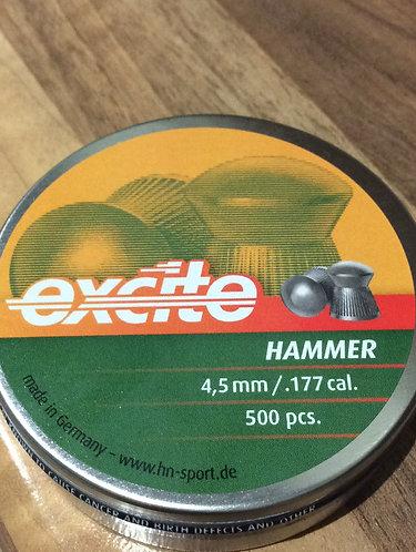 H&N Excite Hammer 177 cal pellets
