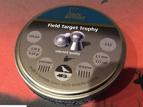 H & N - Field Target Trophy .177 4.50MM - Qty 500 HUNTING SHOOTING