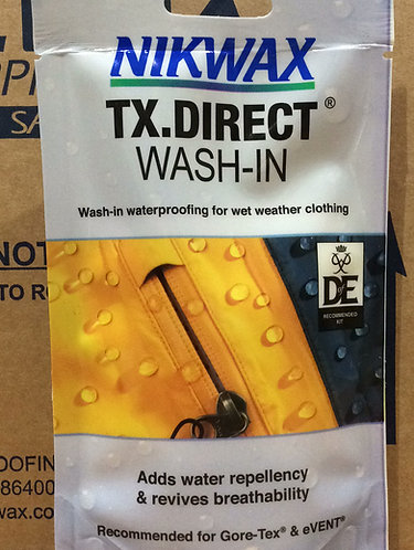 NikWax TX Direct Wash In Waterproofing