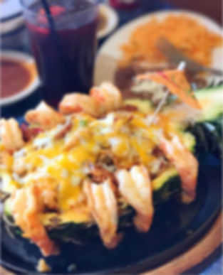 Fresco Mexican Dinner Menu
