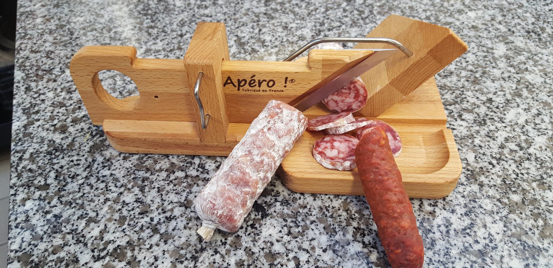 Guillotine à saucisson et/ou chorizo