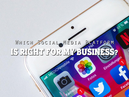 Which Social Media Platform is right for My Business?