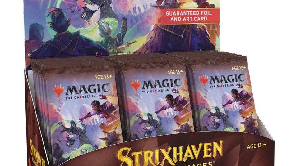 Magic Strixhaven: School of Mages Set Booster Box