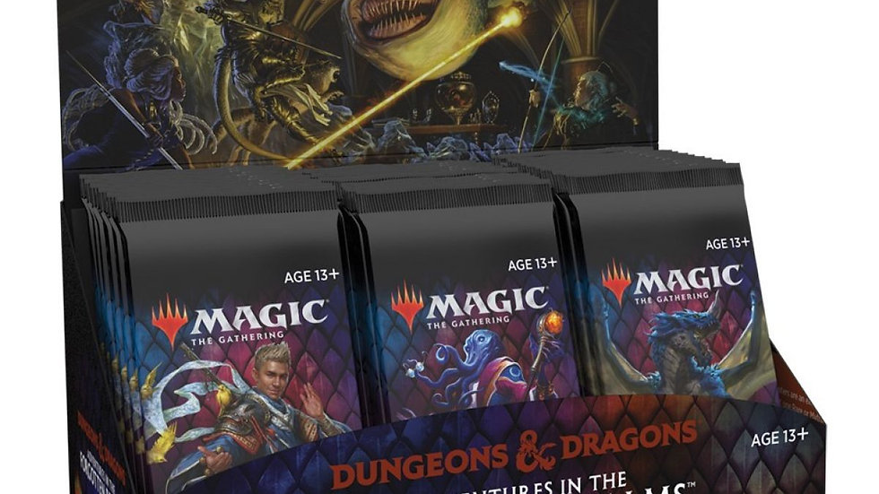 (PRE-ORDER) Magic Adventures in the Forgotten Realms Set Booster Box