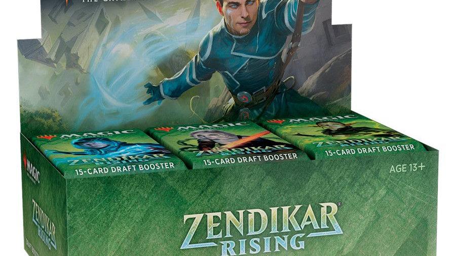 Magic Zendikar Rising Individual Draft Booster