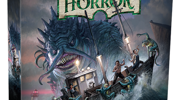 (PRE-ORDER) Arkham Horror 3rd Edition Under the Dark Waves