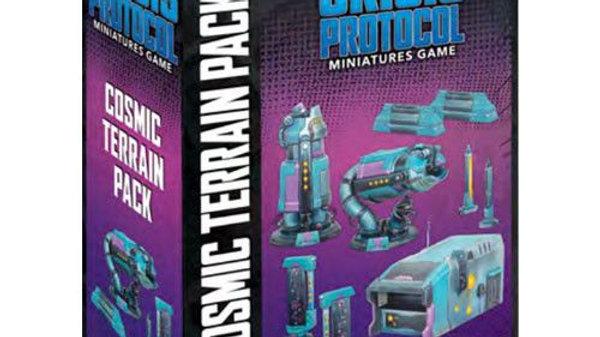 (PRE-ORDER) Marvel Crisis Protocol Miniatures Game Cosmic Terrain Pack