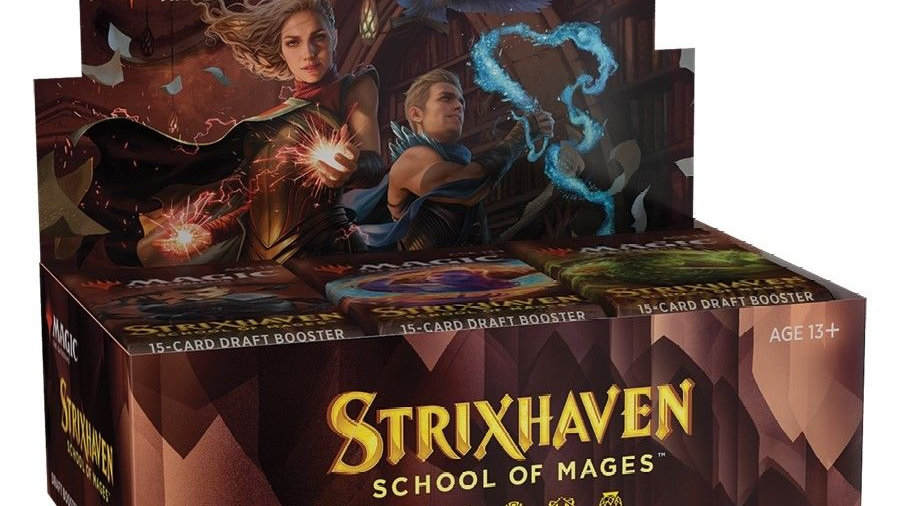 Magic Strixhaven: School of Mages Draft Booste Box