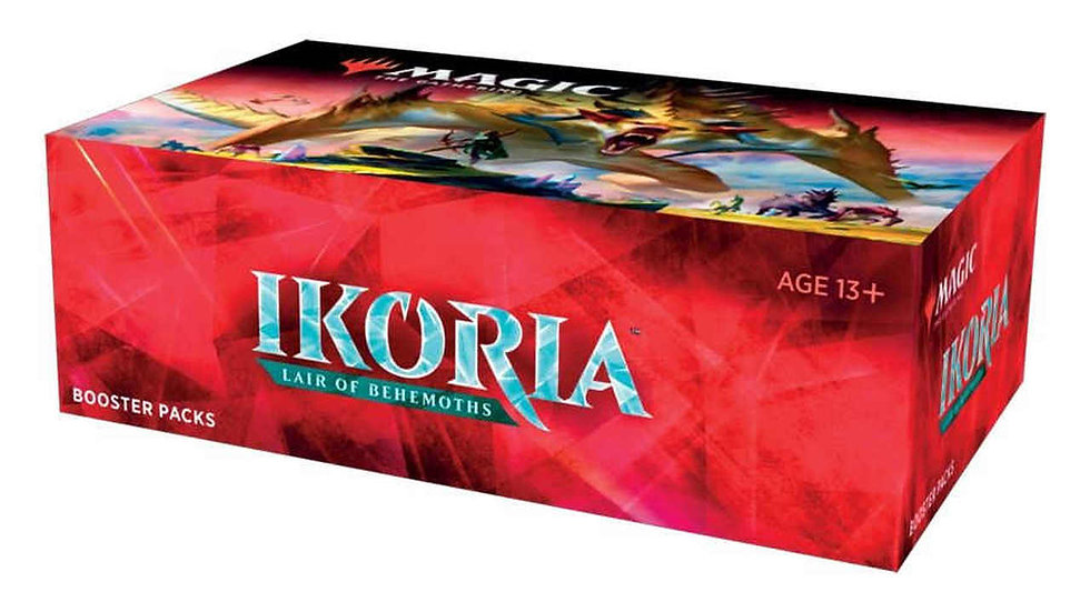 DRAFT BOOSTER BOX: IKORIA LAIR OF BEHEMOTHS - MAGIC THE GATHERING