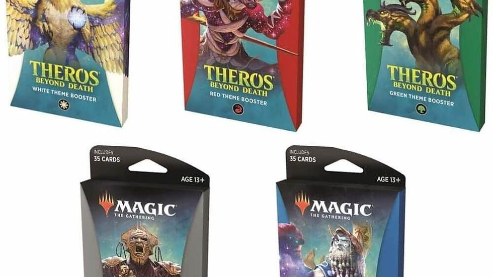 Magic Theros Beyond Death Theme Booster Display