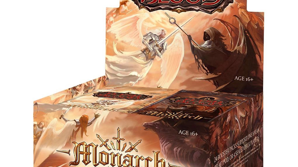 (PRE-ORDER) Flesh & Blood TCG Monarch First Edition Booster Box