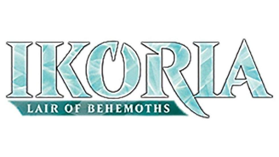 Magic Ikoria Lair of Behemoths Draft Booster Japanese Display