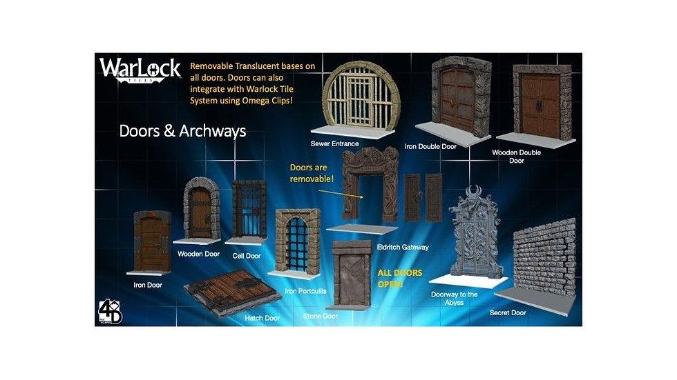 (PRE-ORDER) WarLock Tiles Doors and Archways