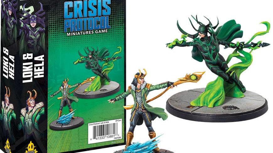 Marvel Crisis Protocol Miniatures Game Loki and Hella Expansion