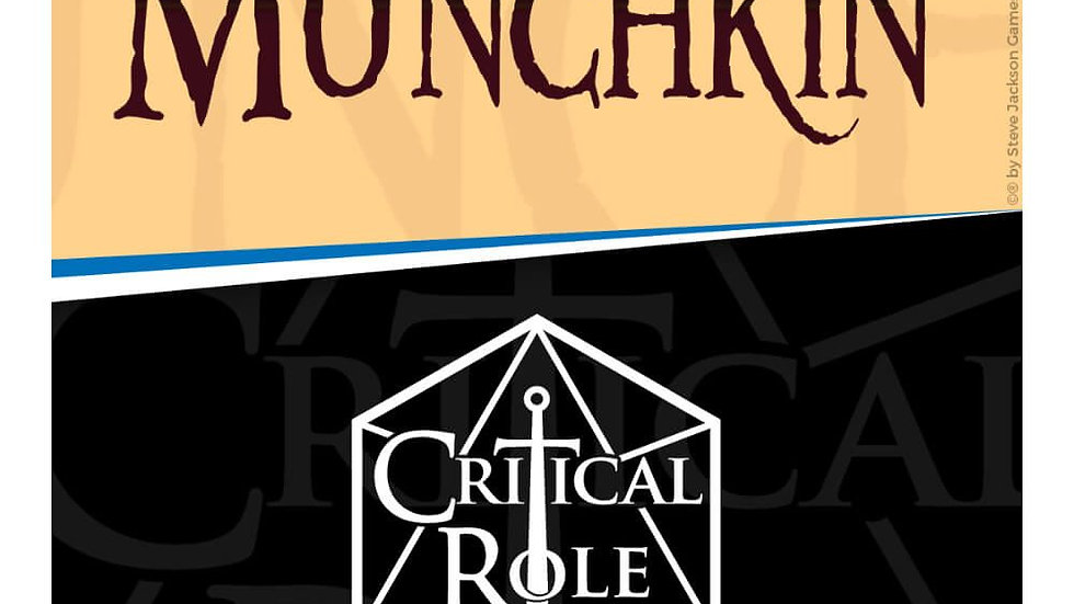 (PRE-ORDER) Munchkin Critical Role