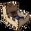 Thumbnail: Folding Dice Tower (Custom)