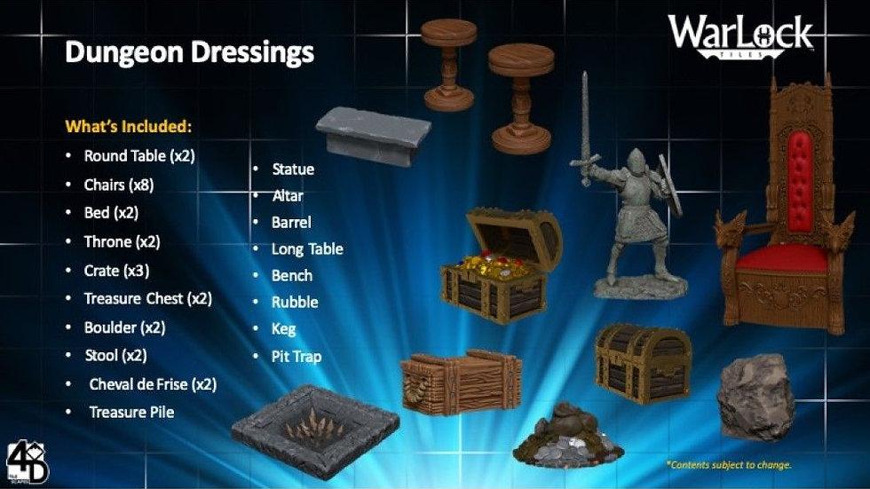 (PRE-ORDER) WarLock Tiles Dungeon Dressings