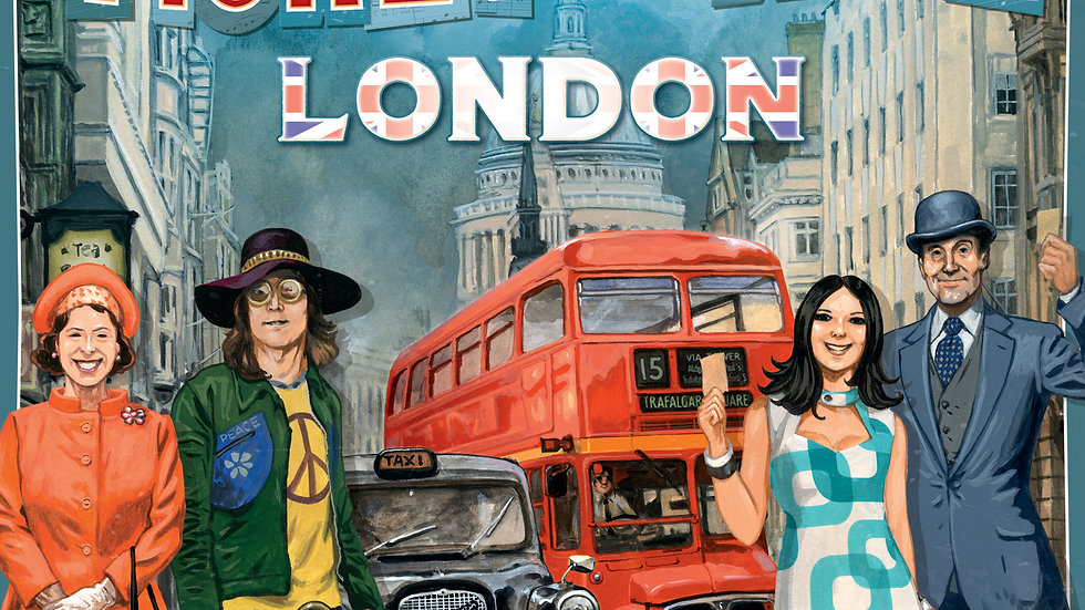 (PRE-ORDER) Ticket to Ride London