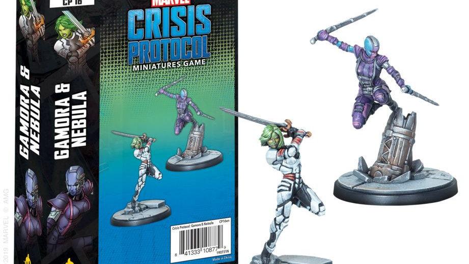 Marvel Crisis Protocol Miniatures Game Gamora and Nebula Expansion