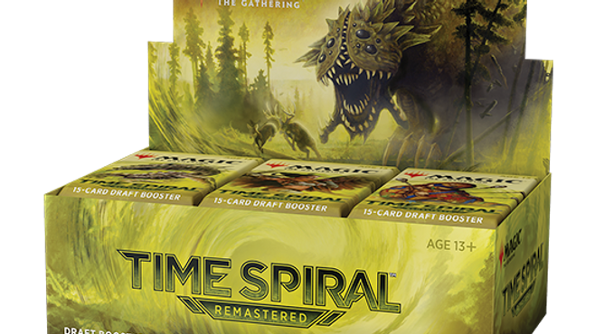 (PRE-ORDER) Time Spiral Remastered Booster Box