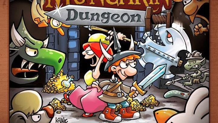 (PRE-ORDER) Munchkin Dungeon