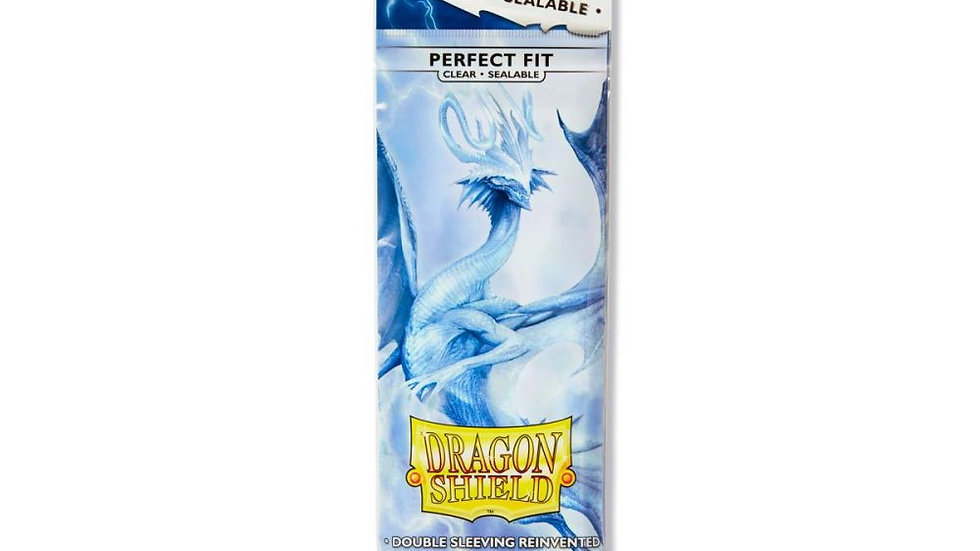 (BACK ORDER) Dragon Shield - Perfect Fit Sealable - Standard - Clear