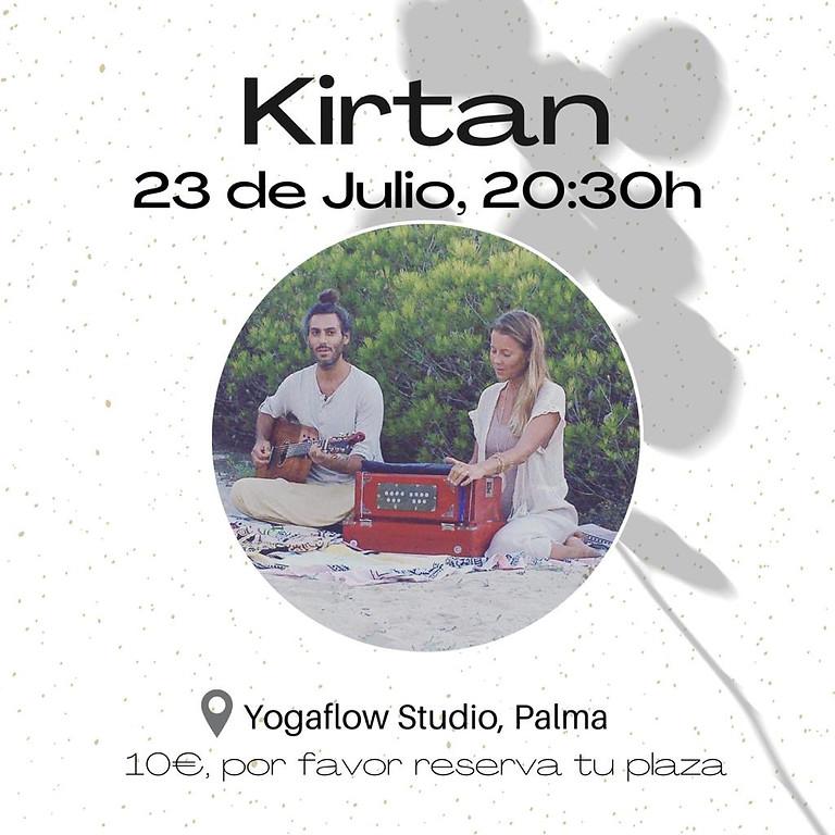 KIRTAN en Yogaflowstudio