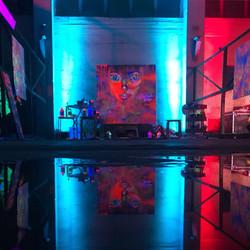 Neon Exhibition Space