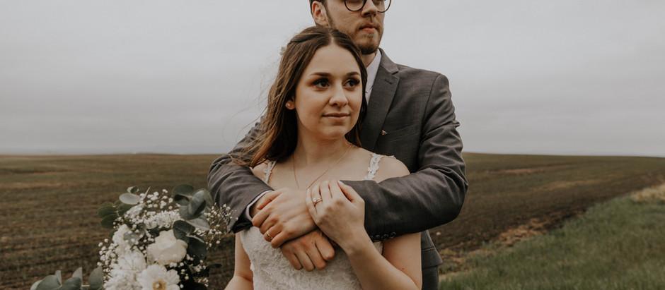 Adeline + Brandon: Coutts Centre Wedding