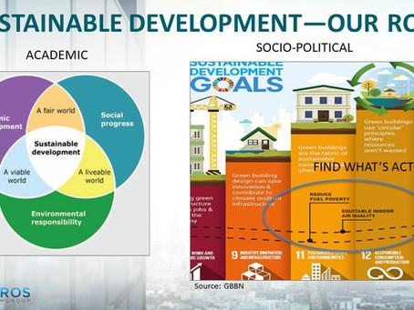 Sustainable Development-- Trust, but verify.