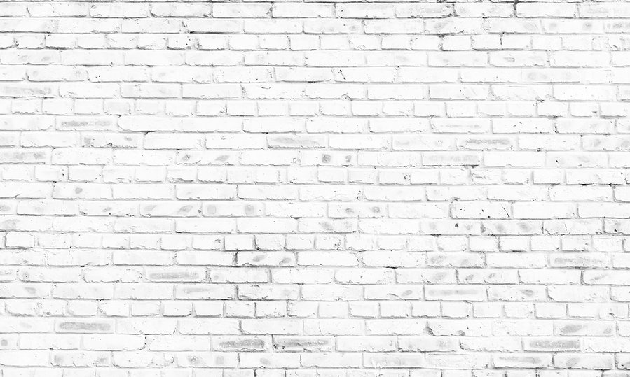 white brick wall background in rural roo