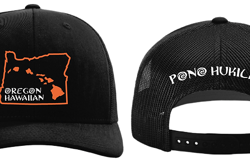 Pono Hukilau Hat Oregon Hawaiian Beavers