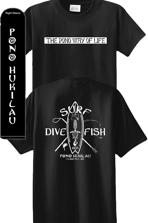 Pono Hukilau Surf T-shirt