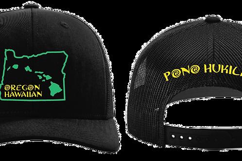Pono Hukilau Hat Oregon Hawaiian Ducks