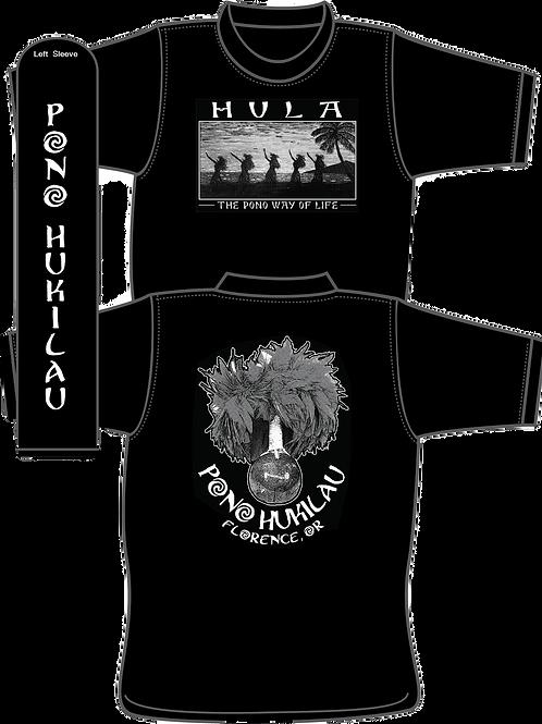 Pono Hukilau Hula Crewneck (Sleeve Logo)