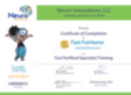 Fast ForWord certificate, FFW, Речевое развитие, FFW, Fast ForWord, Fast For Word, Фаст фо ворд, фаст фор ворд, дислексия, задержка речи, ОНР, РАС, аллалия, задержка в развитии, рассеяное внимание, развитие речи