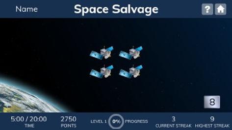 Fast ForWord упражнение Space Salvage.jpg