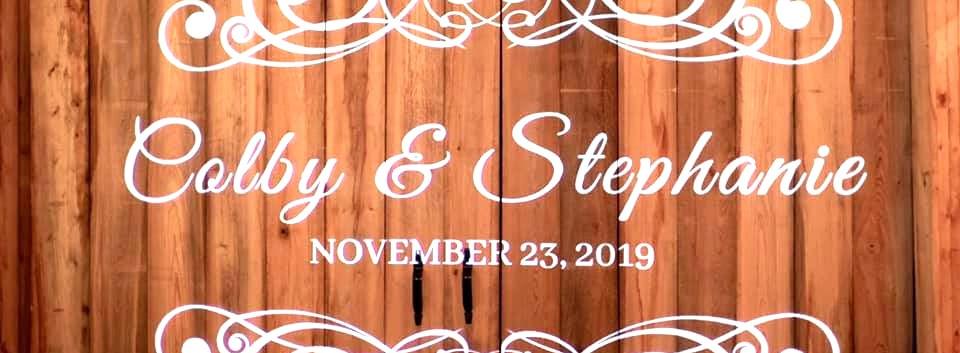 Hinson Wedding 11/23/19
