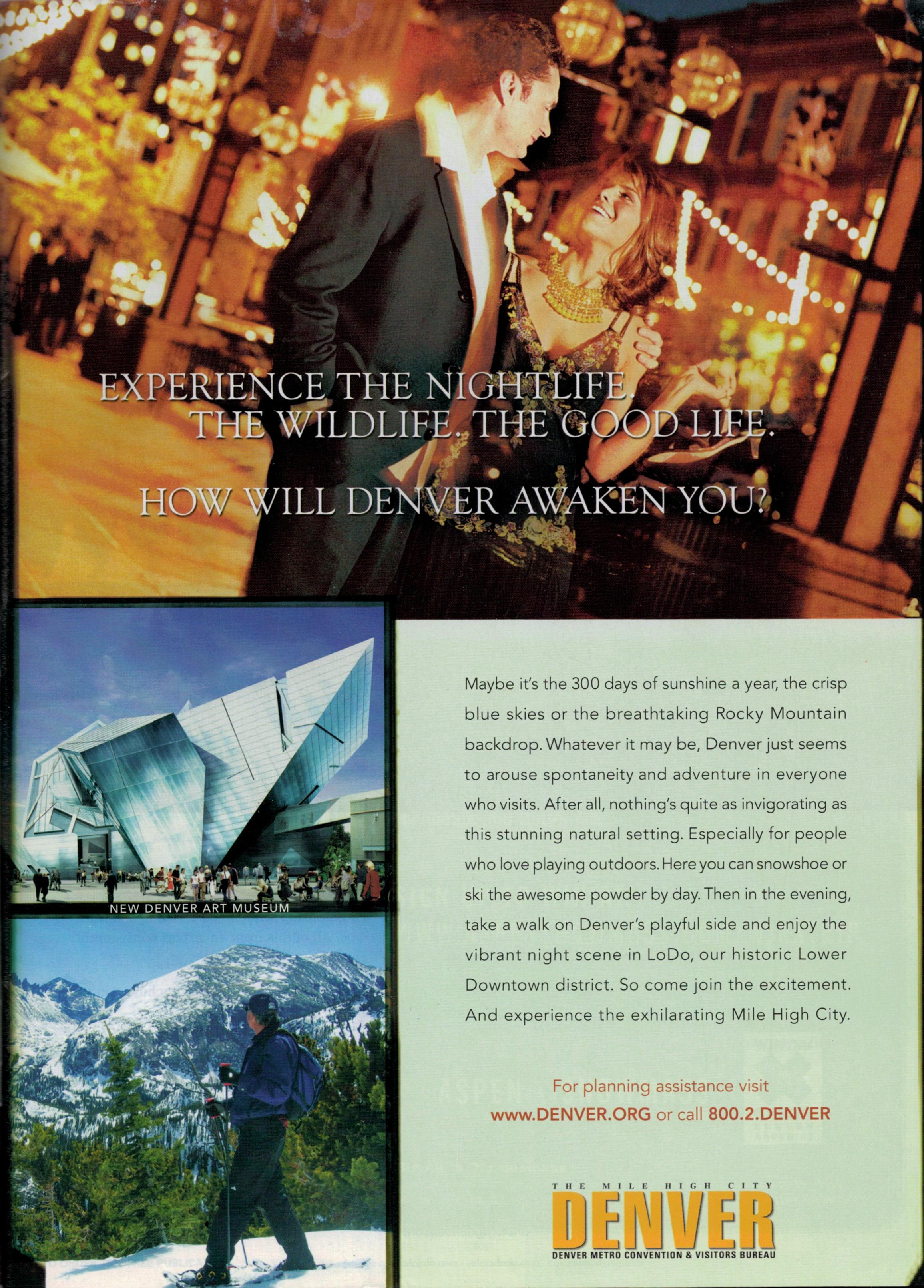 """Nightlife"" Print Ad"