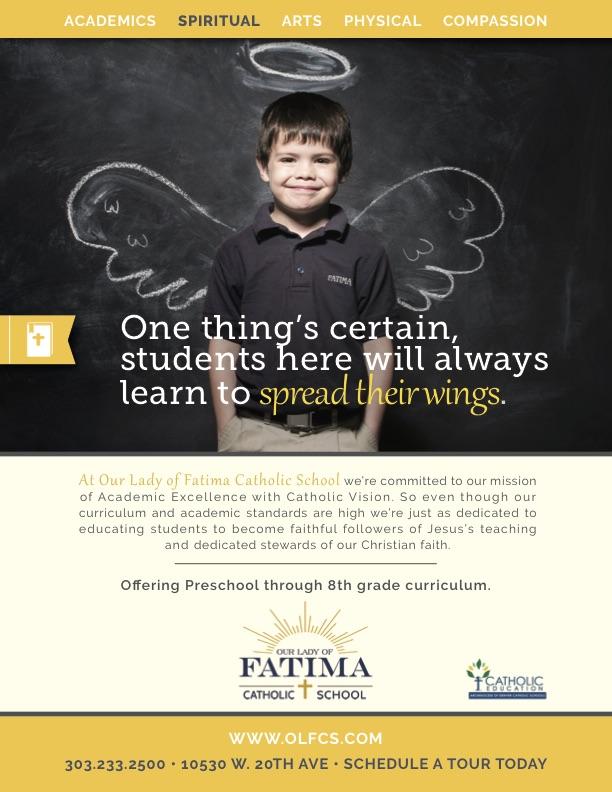 """Spiritual"" print ad"