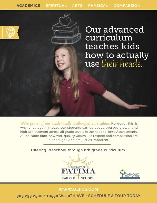 """Academics"" print ad"