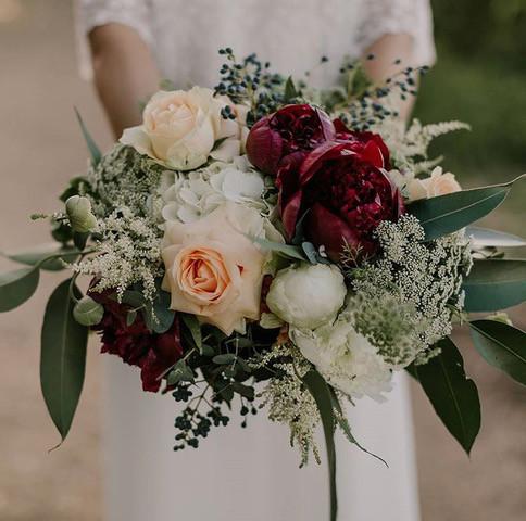 Full foward facing bouquet