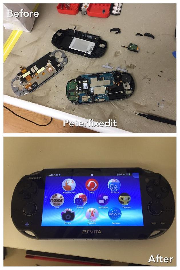 PS Vita Screen Replacment