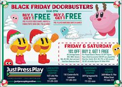 Just Press Play Xmas Ad