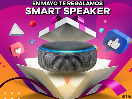 En Los 40 León te regalamos tu Smart Speaker con Alexa.